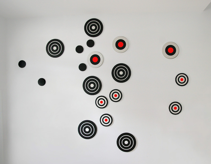 Target Series, acrylic on canvas, 2002