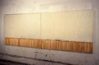 White Landscape Construction, Encaustic on Canvas, 1991